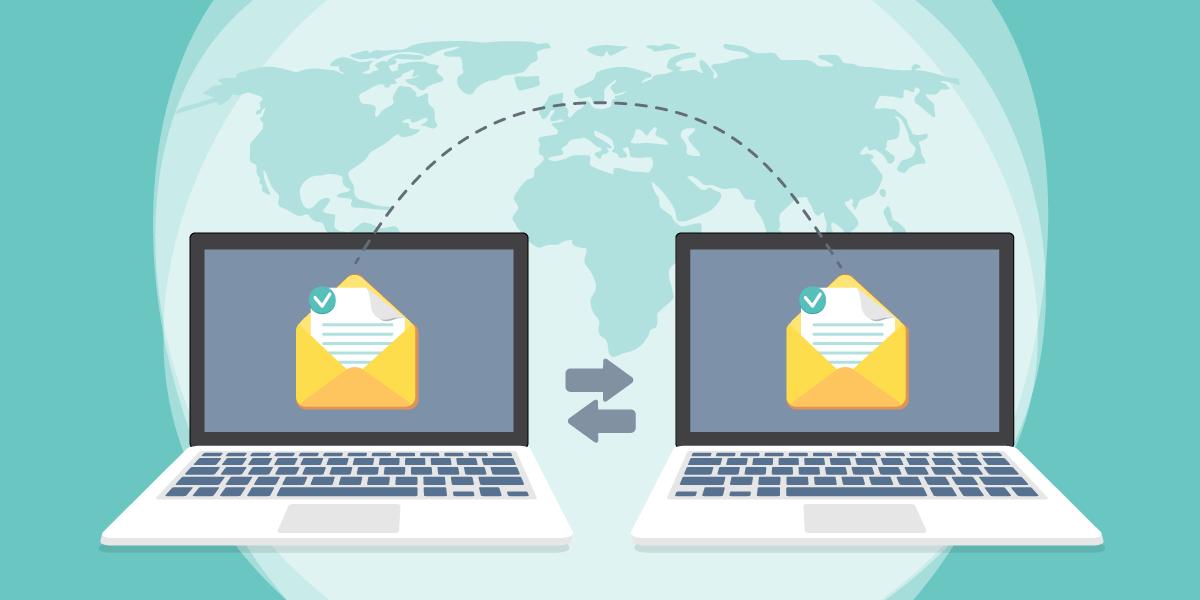 العمل بإنتاجية مع البريد الإلكتروني السحابي